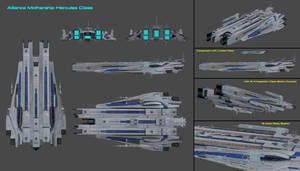 Alliance Super Carrier Leviathan Class