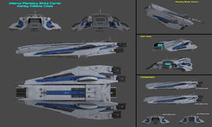 Planetary Strike Carrier Ashley Williams Class