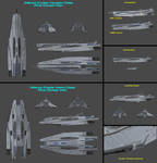 First Contact War - Houston and Alamo Class