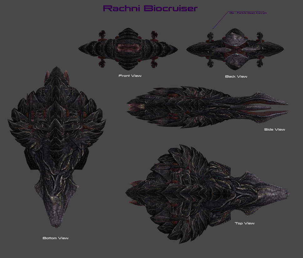 Rachni Bio-Cruiser Concept By Nach77 On DeviantArt