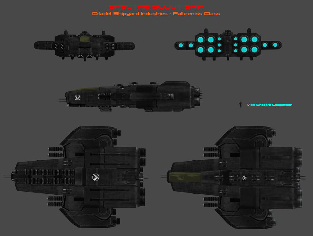 Falkreniss Class Scout Concept by nach77