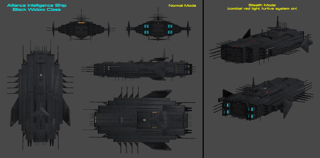 Alliance Black Widow Class by nach77