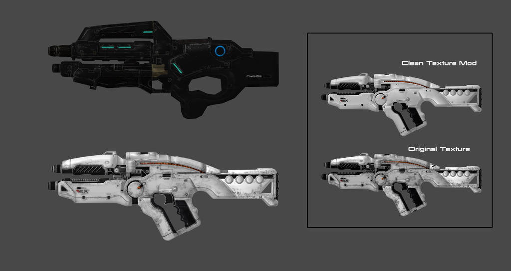 Mass Effect Andromeda X5 Ghost: Andromeda Weapon Pack 8 By Nach77 On DeviantArt