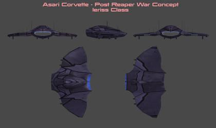 Asari Corvette Concept by nach77