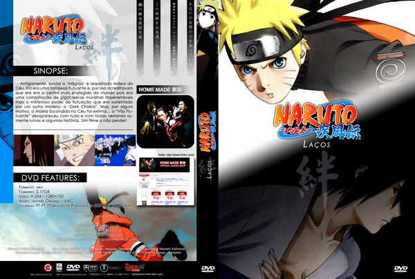 Naruto Shippuden MOVIE 2 5 English Dubbed Naruto