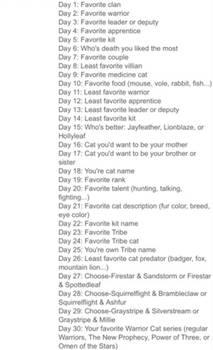 Thirty Day Warrior Challenge! - 0/30 done