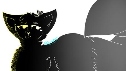 Hollyleaf - Warrior Cats - /w Speedpaint