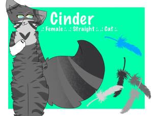 Cinder - Reference Sheet - w/ S P E E D P A I N T