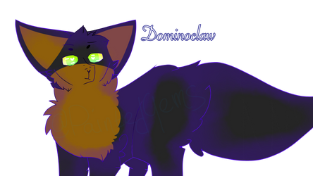 Gift for Dominoclaw! by PaintedGems