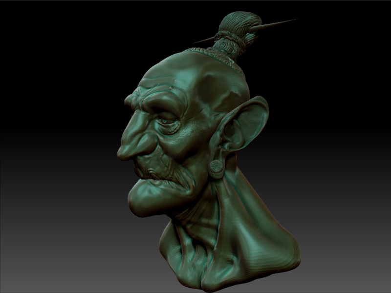 First time with Zbrush