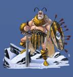 Beeking Warrior by CamaraSketch