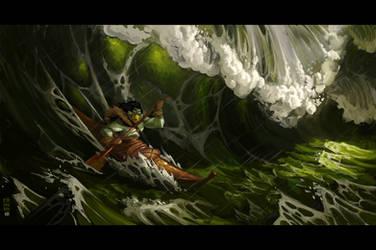 Dangerous waters by CamaraSketch