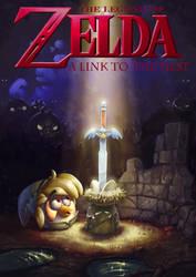 Angry Birds meets The Legend of Zelda by CamaraSketch