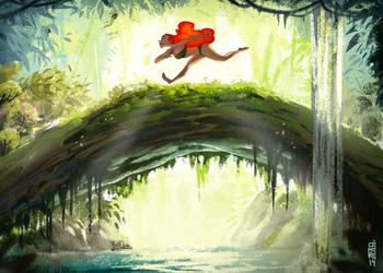 Jungle run thumbnail by CamaraSketch