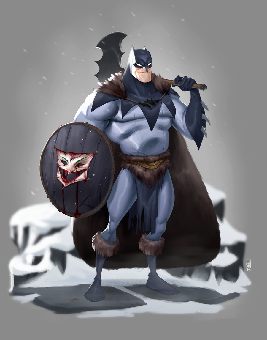 The Batman by CamaraSketch