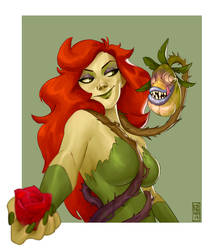 poison Ivy by CamaraSketch
