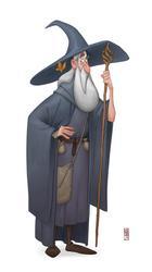 Gandalf by CamaraSketch
