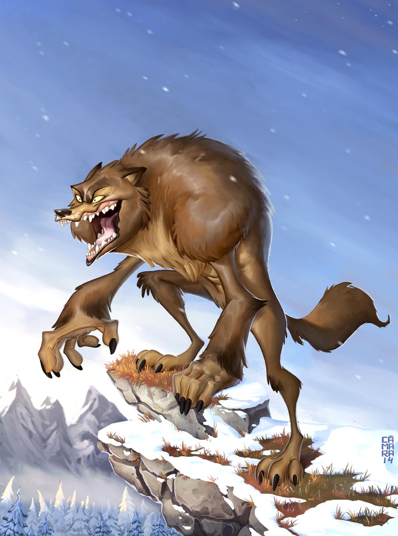 Werewolf by CamaraSketch