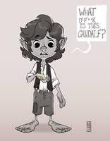 Frodo by CamaraSketch
