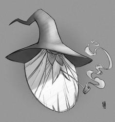 Gandalf quickie by CamaraSketch