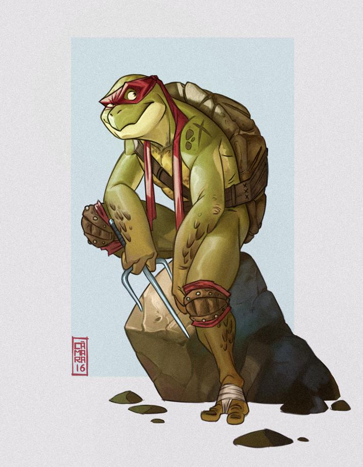 TMNT Raphael by CamaraSketch