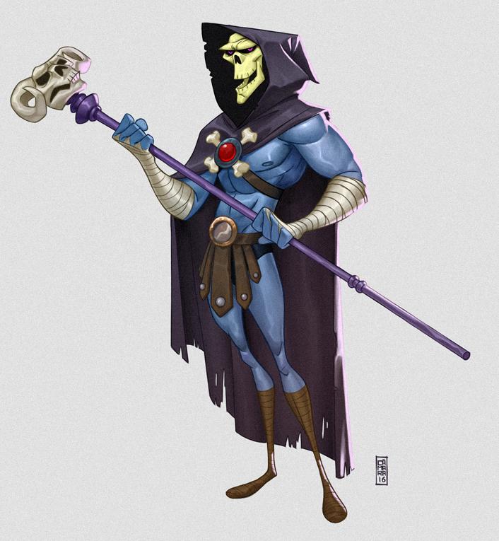 Skeletor by CamaraSketch