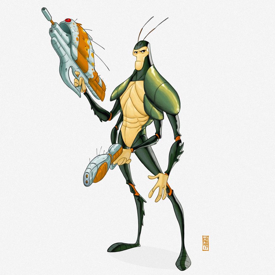 Bug! by CamaraSketch