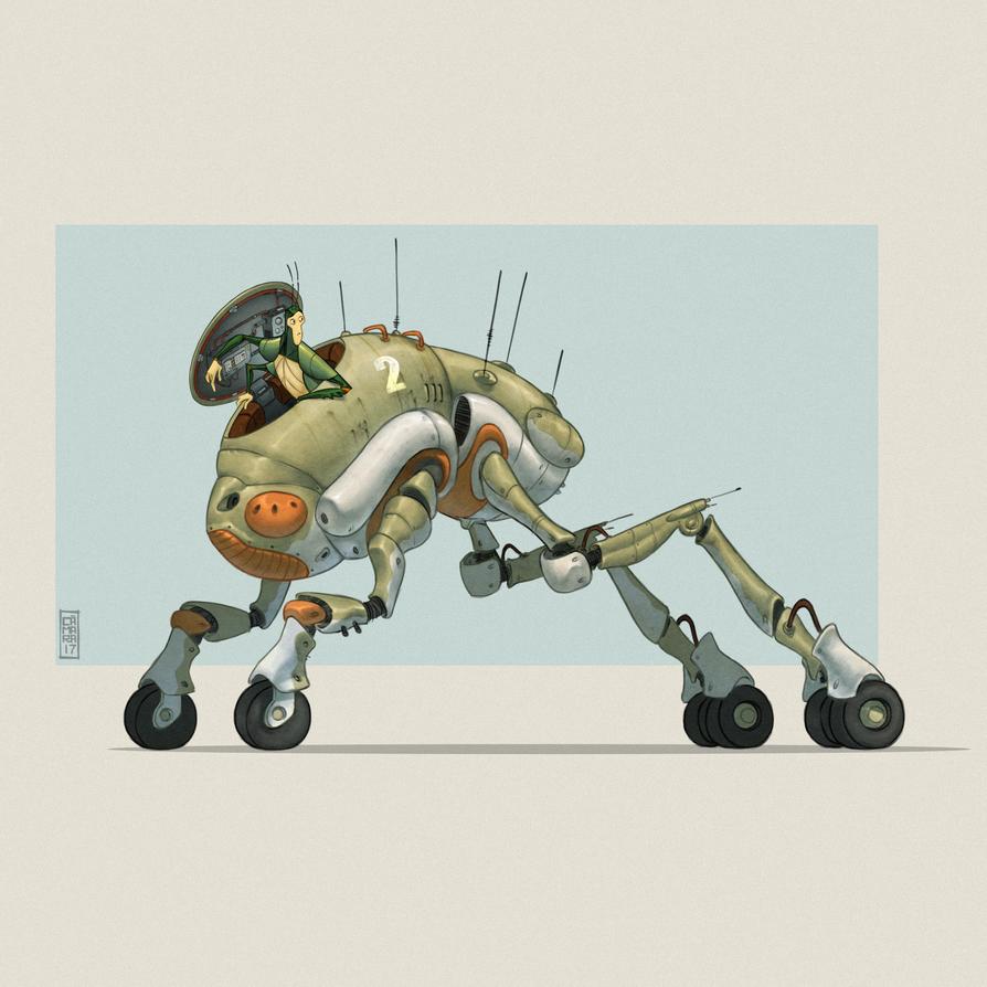 Cicada Vehicle by CamaraSketch