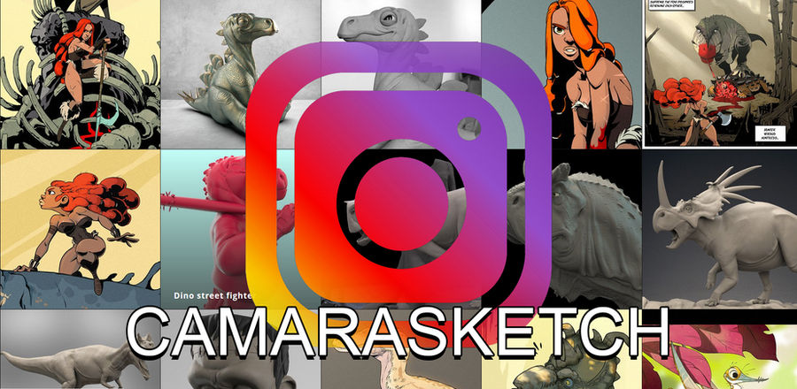 Follow me on Instagram! by CamaraSketch
