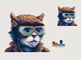 Cat Pilot by Pixljuice
