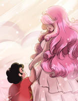 Steven Universe: Mother and Son