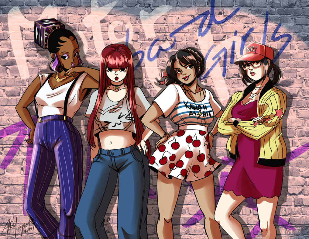 Motorcity: Bad Girls by Rice-Lily