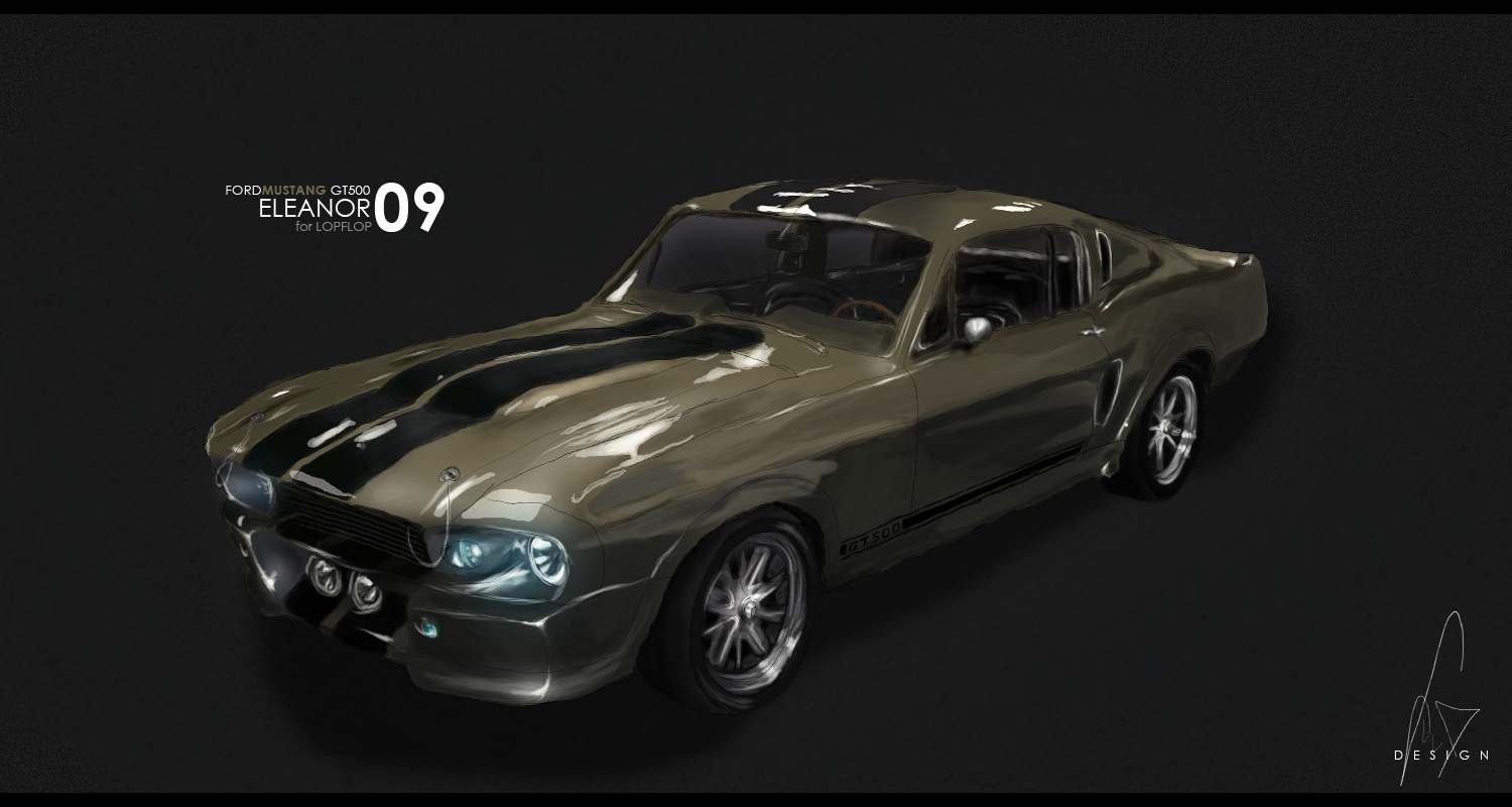 Ford MUSTANG GT500 ELEANOR by