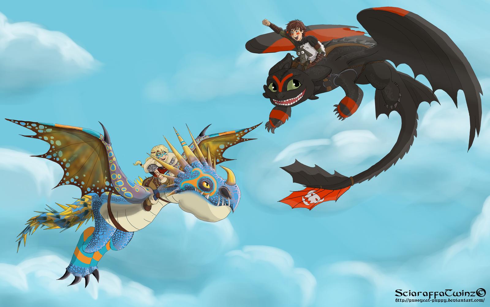 Dragons Nackt
