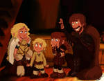 Haddock Family by Wiccatwolf