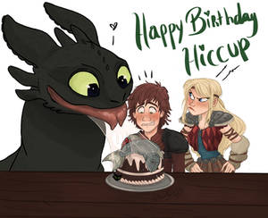 Hiccup's Birthday!