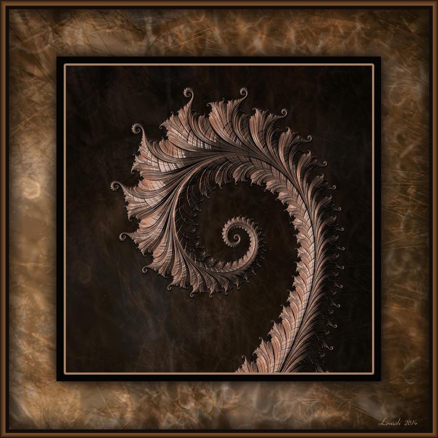 Wooden Complex Spiral by 12CArt