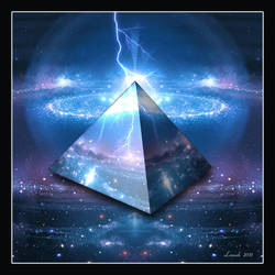 Cosmic Pyramid by 12CArt
