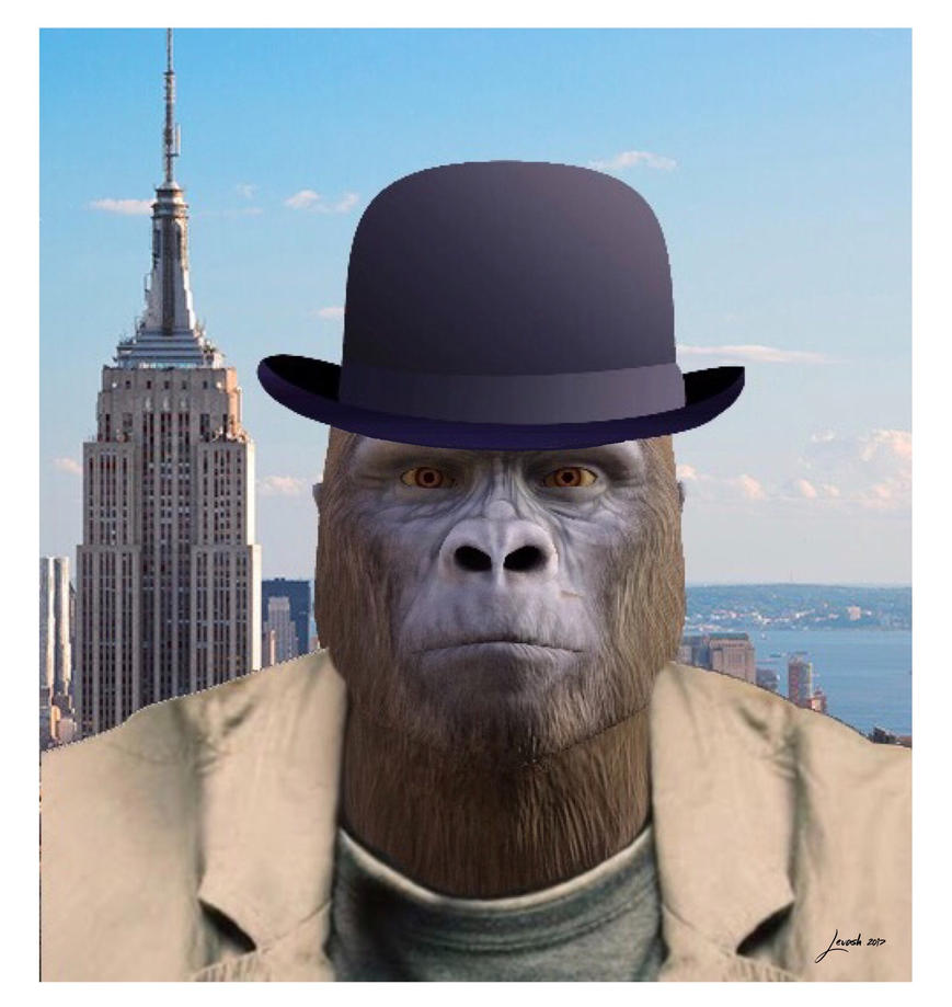 KONG Revisits New York by 12CArt