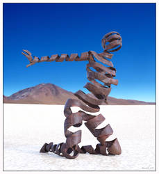 ARTifact IRON DESERT SCULPTURE by 12CArt