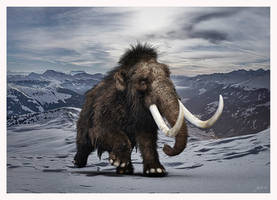 WOOLLY MAMMOTH SCENE by 12CArt