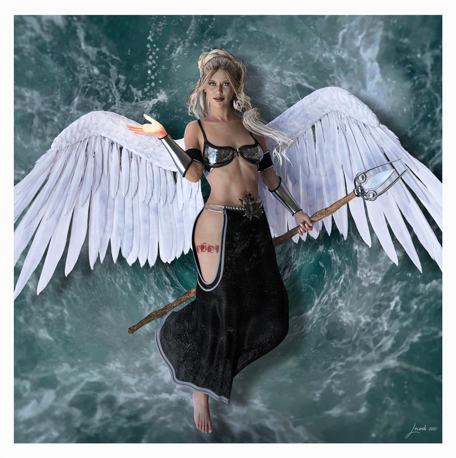 Angel Of Forgiveness Promoter Of The Light by 12CArt