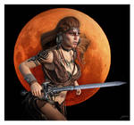 Red Sonja The Barbarian Warrior