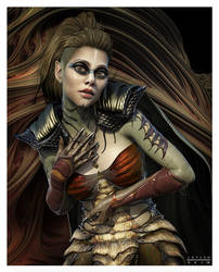 NOCTURNAL SACRED PRIESTESS by 12CArt
