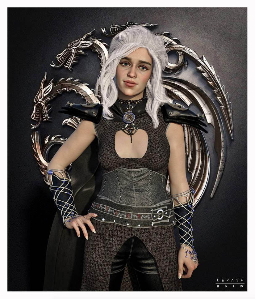 Daenerys Targaryen GOT FAN by 12CArt