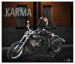 KARMA IS A BITCH by 12CArt