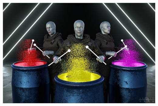 Blue Man Group Tribute