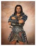 Steven Character Bone Crusher Armor