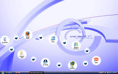 Altimit Mine OS Desktop by trinityrenee