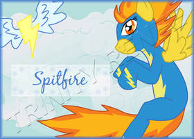 MLP Spitfire Badge by trinityrenee